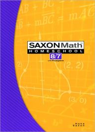 Saxon Math 8/7 Homeschool: Student Edition 3rd Edition 2005 / Edition 1 by Houghton Mifflin Harcourt Download