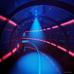 New party member! Tags: design loop 3d trippy neon cyber mograph tunnel