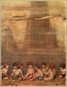 "William Heath Robinson    ""The Water Babies"""