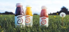 Innocent Smoothies.