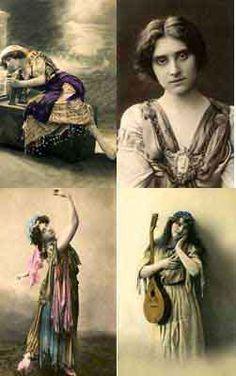 Vintage Gypsy Images Detail