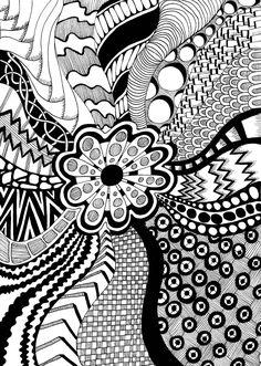 Doodle zentangle crafty - doodle it идеи для рисунков, дизайн узора мандала Doodle Zen, Easy Doodle Art, Doodle Art Designs, Doodle Art Drawing, Zentangle Drawings, Doodles Zentangles, Easy Doodles, Abstract Drawings, Drawing Faces