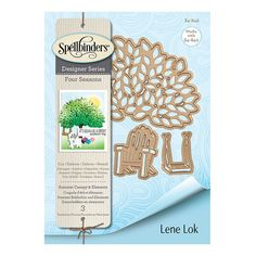 Spellbinders Four Seasons Summer Canopy and Elements Etched Dies