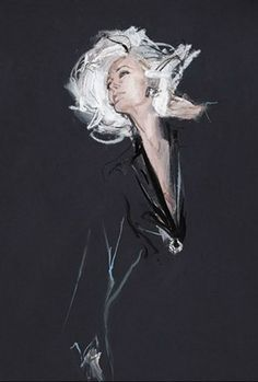 Fashion Illustrations by David Downton Mais More