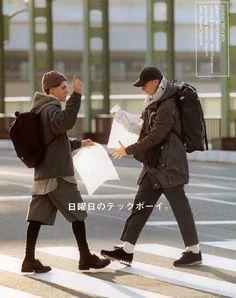 Mens Fashion Casual – The World of Mens Fashion Japan Fashion, Mens Fashion, Fashion Outfits, Men Street, Street Wear, Popeye Magazine, Mode Style, Trends, Men Dress