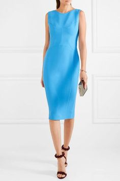 Antonio Berardi - Stretch-cady Dress - Blue - IT46