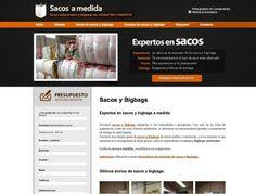 Sacos a medida - Sacos industriales y bigbags www.sacosamedida.es #web