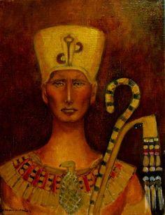 Painting Ramzes - Artist Krystyna Ruminkiewicz