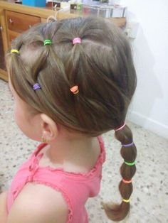 Peinados Mine, Peinados Sencillos Para Niñas, Peinados Sofi, Peinados Para Niñas, Con Liga, Niña Con, Peinados Niñas Faciles, Peinados Bellos, Bebes