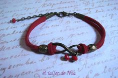 Pulseras ref. ibi15006. Infinito conjugado en múltiples colores. Una pulsera casual que da mucho juego. Más en www.eltallerdenoa.com Consultas eltallerdenoa@gmail.com #bisutería #jewelry #bracelet #joyería