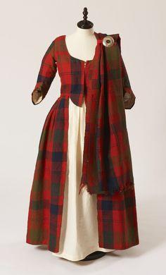 Traditional Wedding dress ca. 1785