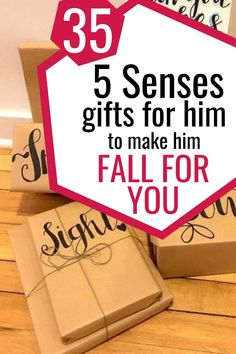 If you are looking for the perfect unique gifts for him, this list will be all you need. Divided into sections for each of the 5 senses, you'll find tons of gifts he's absolutely going to love. Unique Gifts For Boyfriend, Bf Gifts, Unique Gifts For Him, Birthday Gifts For Boyfriend, Best Birthday Gifts, Gifts For Husband, Boyfriend Gifts, Cute Gifts, Homemade Gift Baskets