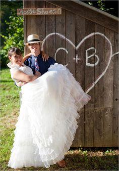 Old Fashioned Hoedown Wedding