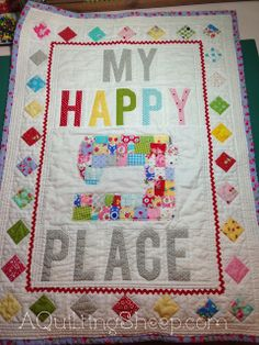 My Happy Place ~ by A Quilting Sheep #tinlizzie18
