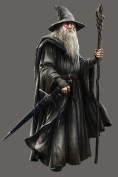 Gandalf the Grey. Gandalf Stormcrow