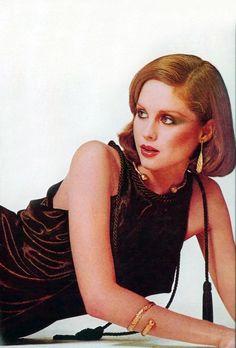 1975 - Rosie Vela wearing Saint Laurent by Irving Penn for Vogue