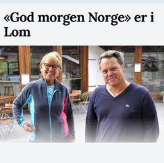 """Wenches kjøkken on Instagram: """"Tirsdag  morgen er  God morgen Norge kollega Bjarte og jeg på besøk hos Bakeren i Lom , Morten Schakenda .  Vi gleder oss !"""""""