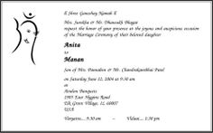 Hindu Wedding Invitation Wording Wedding Card Wordings Parekh