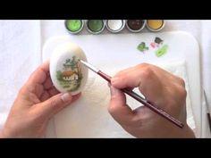 Aprenda a fazer pintura em sabonete | Cantinho do Video One Stroke Painting, Painting For Kids, China Painting, Stone Painting, Painted Rocks, Hand Painted, Decorative Soaps, Bath And Body, Decoupage