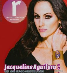 Words can't express how humbly honored I feel to have former Miss World Jacqueline Aguilera wearing my jewelry line on the cover of magazine published in Venezuela. 😇 Jacqueline Aguilera  is a Venezuelan model and beauty queen who became the fifth woman from Venezuela to capture the Miss World crown. 🤗 Jacqueline Aguilera participated in Top Model of the World 1995, where she became Venezuela's first titleholder in history. 🤗 Miss World Jacqueline Aguilera  Photography by Abel Paredes…