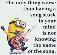 Funny Minion Quotes About Songs