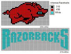 Arkansas Razorbacks by cdbvulpix.deviantart.com on @deviantART