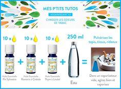 DIY : Éliminer les odeurs de tabac avec les huiles essentielles