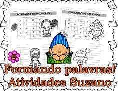 Formando palavras - Atividades Adriana