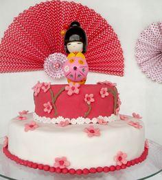 japanese cake - my birthday! *-*