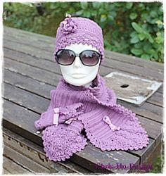 Eplabiter -  sett crochet handmade Heklet sett https://epla.no/shops/chris-ho/