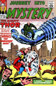 Back when people could say Zarrko with a straight face. Journey Into Mystery #101 - Jack Kirby