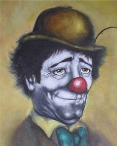 Hobo Clown Painting | Creative Commons Attribution-No Derivative Works 3.0 License .