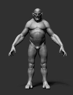 3D Model Creature Ztl Zbrush - 3D Model
