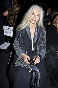 Ingmari Lamy.  Grey Hair.