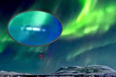 CIGAR SHAPED UFO IN AURORA BOREALIS! Stunning pictures captured of the most recent appearance of the Northern Lights, not only delivers a beautiful aurora display but also an unknown cigar-shaped object flying in the aurora borealis.  An aurora is a natural light display in the sky predominantly seen in the high latitude of the Arctic and Antarctic regions.