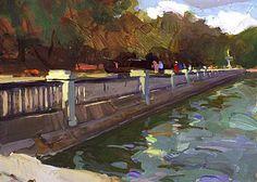 "Scott Burdick: ""Promenade"" Madrid, Spain"
