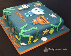 Octonauts cake by Mandy Kamester Cakes, via Flickr