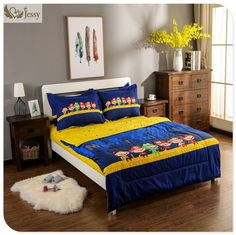 3/4PCS Cartoon Bedding Sets 100% Cotton Kids Bed Linen with Duvet cover +Bedsheet/Fittedsheet +Pillow Case Set - ICON2 Luxury Designer Fixures  3/4PCS #Cartoon #Bedding #Sets #100% #Cotton #Kids #Bed #Linen #with #Duvet #cover #+Bedsheet/Fittedsheet #+Pil