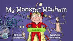 My Monster Mayhem Kids Bedtime Story & Best Ebook Books...: My Monster Mayhem Kids Bedtime Story & Best Ebook Books iPhone… #iphone #Books