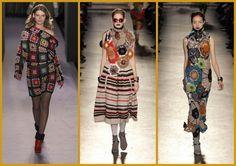 Moda tricot colorata
