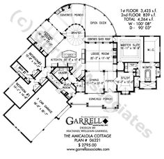 Tranquility House Plan 04159 Basement Floor Plan Mountain Style