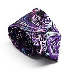 Purple Rain - King Kravate - The Neckwear Of Kings