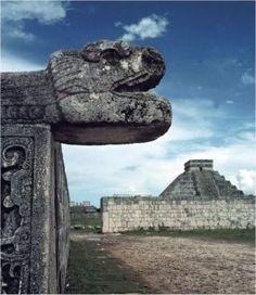Chichen Itza Maya ruins not far from Cancun Aztec Ruins, Mayan Ruins, Vacation Trips, Vacation Spots, Central America, South America, Inca, Travel Memories, Cool Photos