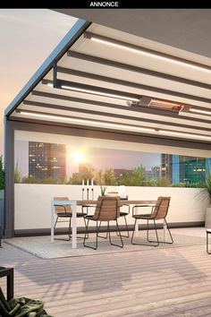 Annonce for Markilux | Med fem lækre løsninger og smarte tips kan du opgradere til en drømmeterrasse ud over det sædvanlige. Terraces, Green Plants, Pergola, Cozy, Outdoor Decor, Tips, Modern, Inspiration, Furniture