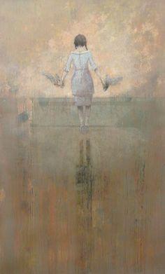 Federico Infante, Guided, acrylic on canvas,  2014