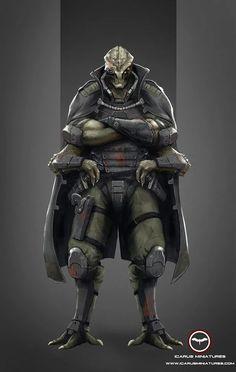 Alien, mercenary