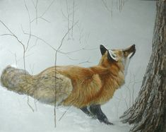 Robert Bateman Game Over Fox and Maple