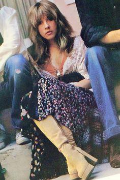 "crystalline-: "" Stevie Nicks, 1976 """