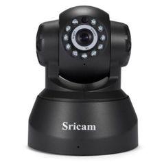 Sricam SP012 720P H.264 Wifi IP Camera Wireless ONVIF Security Black #Sricam