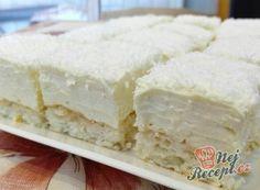 Extra jemné, lahodné croissanty s čokoládou Cakes To Make, How To Make Cake, Hungarian Desserts, Hungarian Recipes, Other Recipes, Sweet Recipes, Torte Recepti, Tea Cakes, Sweet And Salty